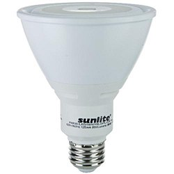 Sunlite PAR30 LED Reflector, 800 Lumens, Medium Base, Warm White, PAR30/LED/14W/WL/D/FL/30K
