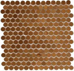 "Perth Penny Rounds, Copper Polished 3/4"", per sheet"