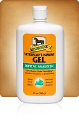 Absorbine® Veterinary Liniment Gel, Topical Analgesic, 12oz. bottle