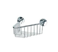 Baño Diseño Cloe Wall Basket No.14 in Chrome