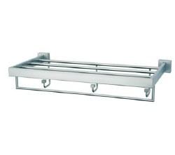 "Baño Diseño Quax Wall Shelf 22"" in Chrome"