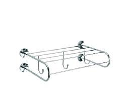 Baño Diseño Cloe Wall Shelf No.15 in Chrome