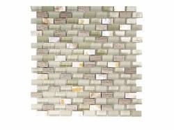 Agata Mix Shell Silver Mosaic on 11.3X11.8 Sheet