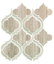 Alice Grey Mosaic on 9.75X11.75 Sheet