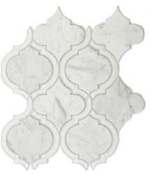 Alice White Mosaic on 9.75X11.75 Sheet