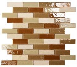 Aqua 709 Glass and Stone Mosaic on 12X12 Sheet