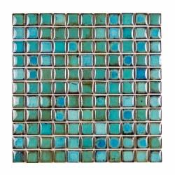 Aquos Porcelain Mosaic on 11.75X11.75 Sheet