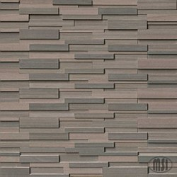 Brown Wave Sandstone Split Face Ledger Stone, per s/f