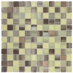 Directions XHT306 Green Hills Mosaic on 12x12 Sheet