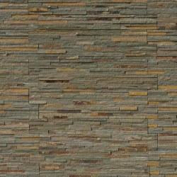 Gold Rush Pencil Liner Slate Stacked Stone Ledger, per s/f