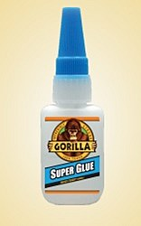 Gorilla Super Glue 15g bottle