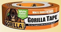 "Gorilla White Tape 1.88"" X 30yds"