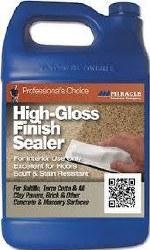 Miracle High-Gloss Finish Sealer Gallon, HGFS 4/1 GAL