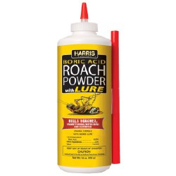 Boric Acide Roach Powder with Lure, 1lb. HRP-16