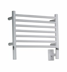 Model H Straight - White Towel Warmer