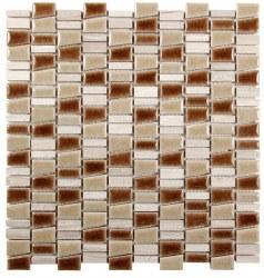 "Mirada K Mix Beige Mosaic on 11.7 X 12.5"" Sheet"