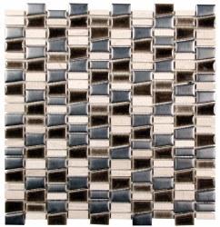 "Mirada K Mix Metal Mosaic on 11.7 X 12.5"" Sheet"