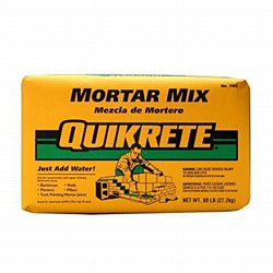 Quikrete Mortar Mix 80lb Bag in Grey