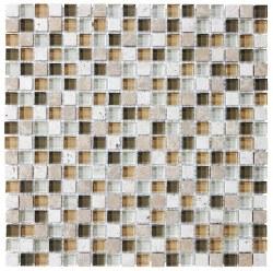 "Bliss Bamboo 5/8"" on 12x12"" Mosaic, per sheet"