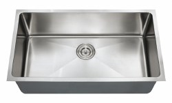 "Chef Series 32X18"" Undermount 16 gauge Kitchen Sink"
