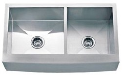 Farmhouse Stainless Steel Kitchen Sink 33 X 20 Double Bowl