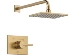 VERO, Monitor 14 Series Shower Trim Only, in Champagne Bronze