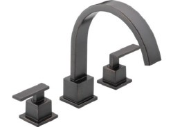 VERO, Roman Tub Trim, 3-Hole, in Venetian Bronze