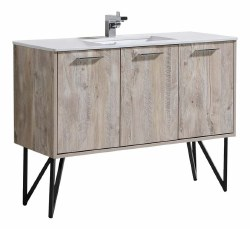 "Canyon 48"" Vanity Set with LED Mirror & Faucet"
