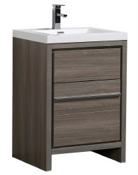 "Granada Novo 24"" Vanity Set in Maple Grey"