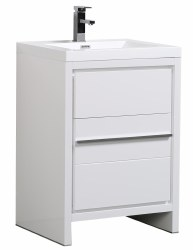 "Granada Novo 24"" Vanity Set in White"