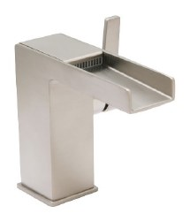 Razo Open Channel Faucet in PVD Satin Nickel