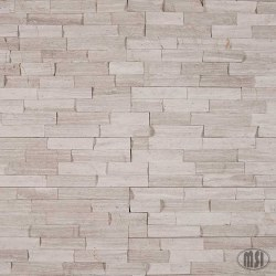 White Oak Marble Split Face Ledger Stone, per s/f