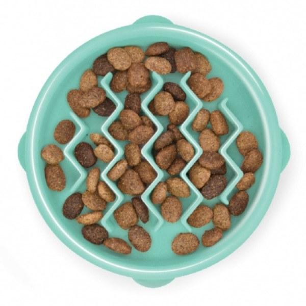 Fun Feeder Slo-Bowl, Tiny Mint