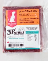 Beef with Organ Bulk, Case of 10. 200g Packages