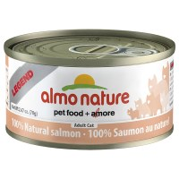 Natural Salmon, Case of 24, 70g Cans