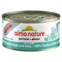 Trout & Tuna, Case of 24, 70g Cans