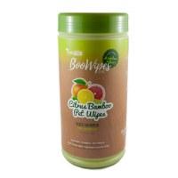Bamboo Fiber All Purpose 100 BooWipes, Citrus