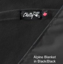Alpine Blanket, Black