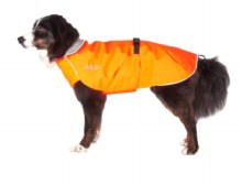 Harbour Slicker, Orange & Silver, 10