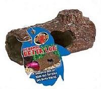 "Betta Log Ceramic Hide Log 4.25"""