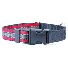 Red Reflective Collar, Large