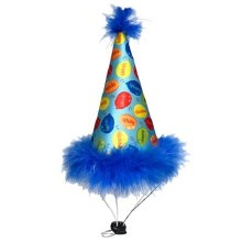 Party Hat Blue, Small