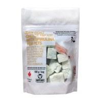 Raw Goat Milk Cheese with Spirulina 100g
