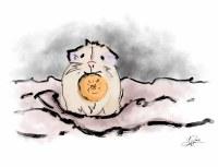 Hamster Nibbles Card