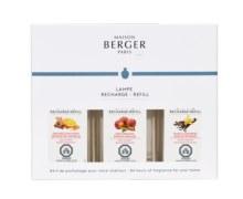 Warm Trio-Pack Lamp Fragrance, Pack of 3, 180ml refills