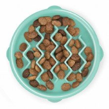 Fun Feeder Slo-Bowl, Tiny Mint