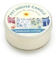 Sunwashed Cotton Mini Candle