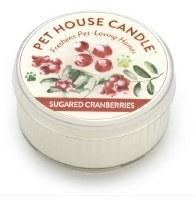Sugared Cranberries Mini Candle
