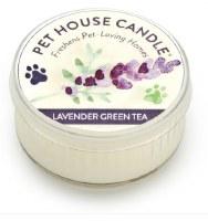 Lavender Green Tea Mini Candle
