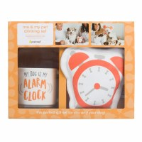 Dog Alarm Clock Gift Set